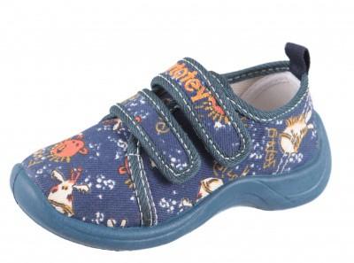 Модель: 131041-12 Полуботинки текстильные малодетские