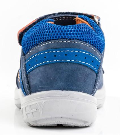 0e839a02a Модель: 122070-25 синий Туфли летние детские натуральная кожа