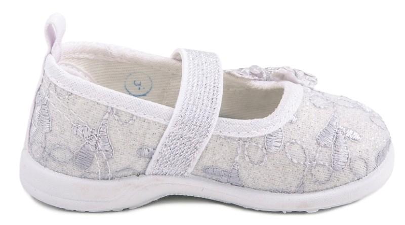 fd3fc94c93c Модель  131070-72 серебряный Туфли для девочек текстиль