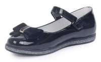"""Модель: A8255-222 (C) черный Туфли для девочек """"Ulet"""" - Det-os.ru - Детская обувь интернет магазин Котофей, Лель, Nordman, Тотто"""