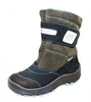 """Модель: 4-1293 тёмно-синий Ботинки детские зимние """"Лель"""" - Det-os.ru - Детская обувь интернет магазин Котофей, Лель, Demar, Топ-Топ."""