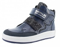 """Модель: м 3-1845 синий Ботинки кожаные для девочек, дошкольные, школьные """"Лель"""" - Det-os.ru - Детская обувь интернет магазин Котофей, Лель, Nordman, Тотто"""