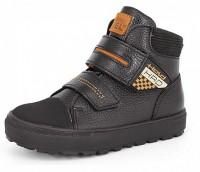"""Модель: м 6-1662 чёрные Ботинки школьные, натуральная кожа """"Лель"""" - Det-os.ru - Детская обувь интернет магазин Котофей, Лель, Demar, Топ-Топ."""