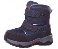 """Модель: C1335-13 (C) синий Ботинки для мальчика школьные """"Tom&Miki"""" - Детская обувь   купить обувь для детей Котофей, Лель, Nordman, Тотта - интерне магазин детской обуви Det-os.ru"""