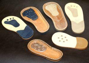 Кожаная подошва для детской обуви