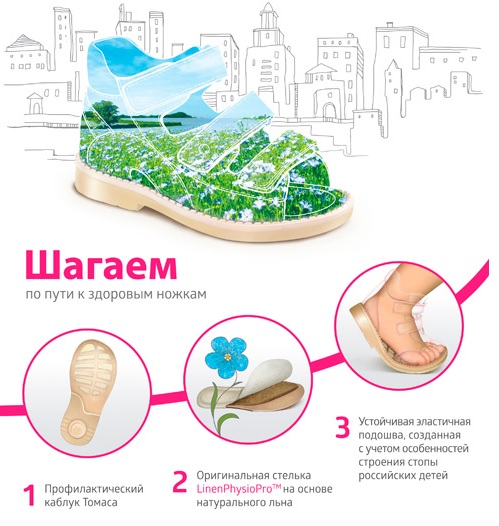 Летняя обувь для детей в Волгограде