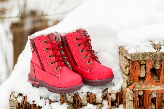 Магазин зимней детской обуви в Казани
