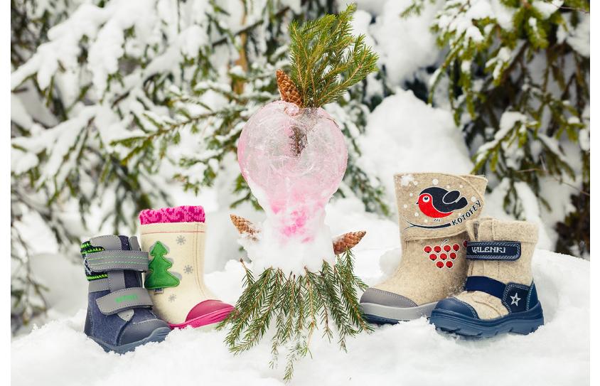 Детская зимняя обувь Котофей купить в Щербинке