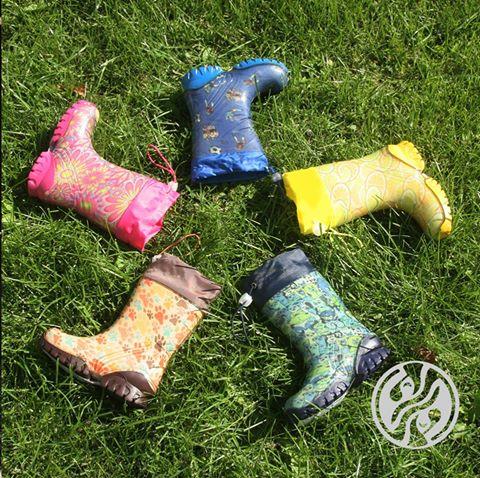 Дарина - непромокаемая детская обувь из ЭВА и ПВХ