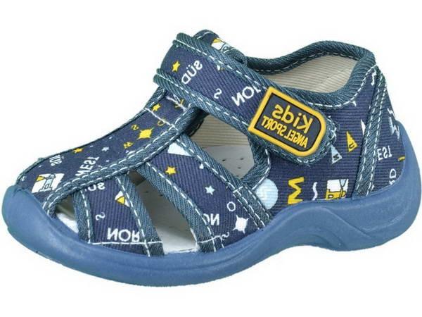 Текстильная детская обувь Котофей