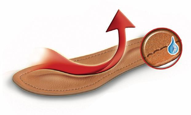 Стельки в детской обуви Котофей